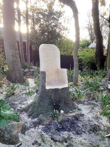 Turn a stump into a feature
